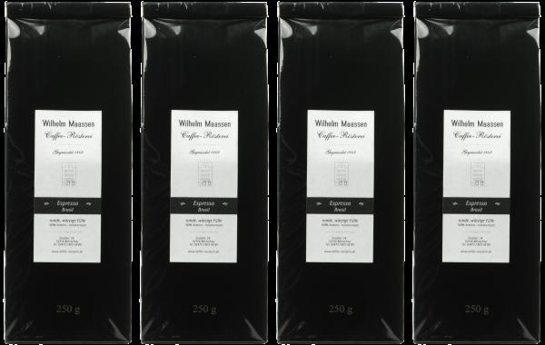 Espresso Brasil 4x250g