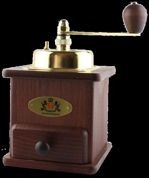 zassenhaus kaffeem hle brasilia mahagoni handbetrieben kaffeem hlen maschinen mehr. Black Bedroom Furniture Sets. Home Design Ideas