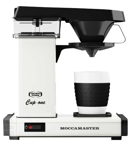 Moccamaster Cup One silber poliert