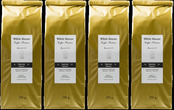 Espresso Supremo 4x250g