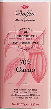 Dolfin Zartbitter 70% Kakao
