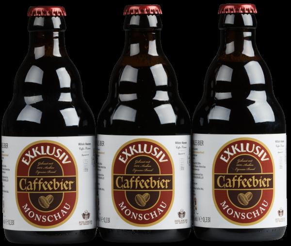 Maassens Caffeebier 3x0,33 Liter-Flasche