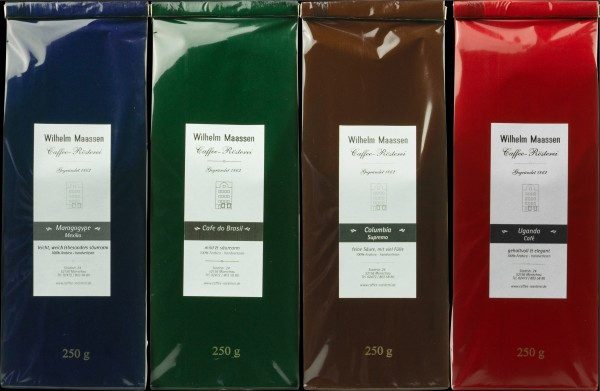 Kaffee Probier-Paket 4x250g