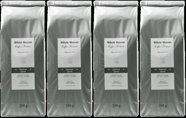 Espresso Uganda 4x250g