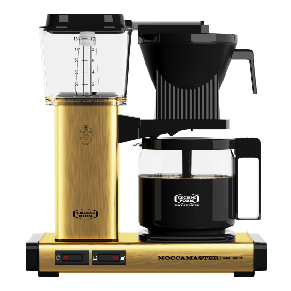 Moccamaster KBG 741 Select Brushed Brass